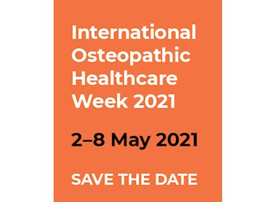International Osteopathic Healthcare Week 2021